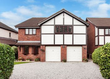 Thumbnail 4 bed detached house for sale in Moss Road, Mossley, Congleton