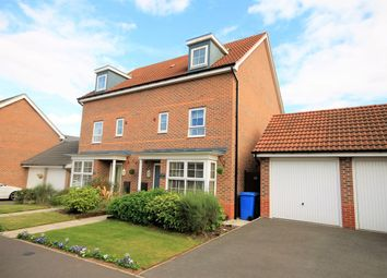 Thumbnail 4 bed semi-detached house for sale in Aylesbury Way, Forest Town, Mansfield