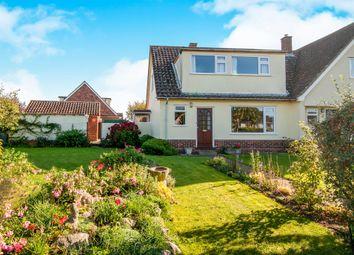 Thumbnail 3 bedroom semi-detached house for sale in Bishops Croft, Barningham, Bury St. Edmunds