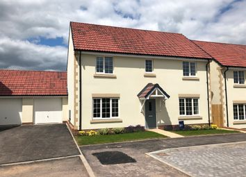 Thumbnail 4 bedroom detached house for sale in Godwin Close, Wells