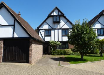 Thumbnail 5 bed detached house for sale in Aragon Close, The Ridgeway, Enfield