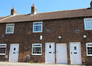 Thumbnail 1 bed terraced house to rent in Chicory Row Church Street, Church Fenton, Tadcaster