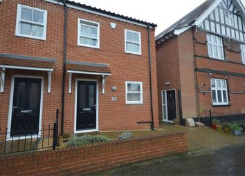 Thumbnail 2 bedroom end terrace house for sale in Branford Road, Norwich