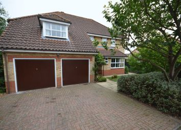 Thumbnail 5 bed detached house for sale in Gunner Close, Thorpe St. Andrew, Norwich