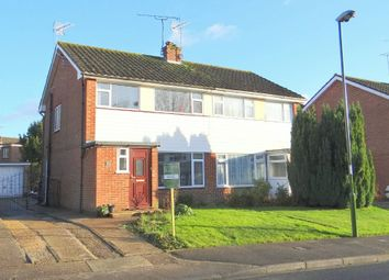 Thumbnail 3 bed semi-detached house for sale in Plovers Road, Horsham