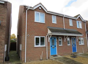 Thumbnail 3 bed semi-detached house for sale in Railway Close, Spalding