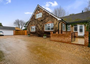 Thumbnail 4 bed detached bungalow for sale in Green Lane, Wootton, Northampton