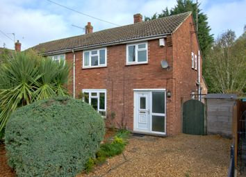 Thumbnail 3 bed semi-detached house for sale in Long Reach Road, Cambridge