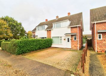 Thumbnail 4 bed semi-detached house for sale in Crown Way, Banham, Norwich, Norfolk