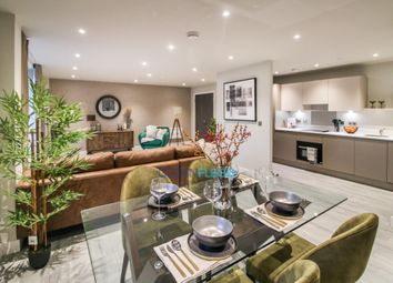 Thumbnail 1 bed flat for sale in Petersfield Avenue, Slough