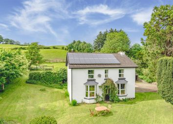 Thumbnail 4 bed detached house for sale in Woodlands, Llanbadarn Fynydd, Llandrindod Wells