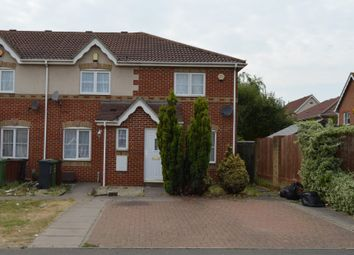 Thumbnail 2 bedroom end terrace house for sale in Stern Close, Barking, Essex