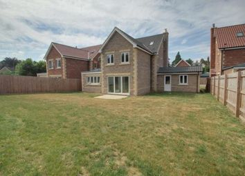 Thumbnail 5 bed detached house for sale in Highfields Grange, Oundle Road, Orton Longueville