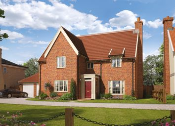 Thumbnail 5 bed detached house for sale in Silfield Road, Wymondham