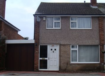 Thumbnail 3 bed semi-detached house to rent in Rushmere Walk, Leicester Forest East, Leicester