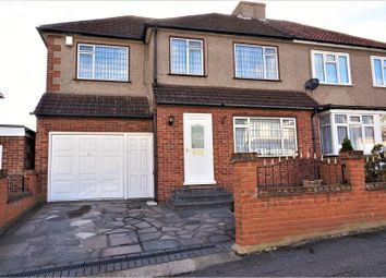 Thumbnail 4 bedroom semi-detached house for sale in Kenilworth Avenue, Romford