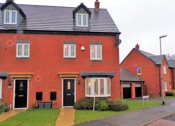 Thumbnail 4 bed semi-detached house for sale in Plum Crescent, Burbage, Hinckley, Leicestershire