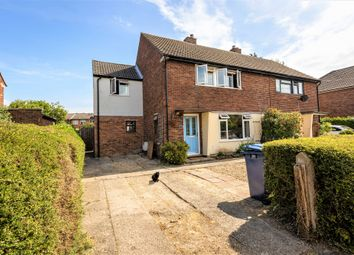 Thumbnail 4 bed semi-detached house for sale in Fordham Way, Melbourn, Royston