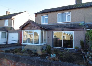 Thumbnail 3 bed semi-detached house for sale in Castle View, Amble, Morpeth