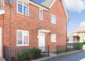 Thumbnail 3 bedroom terraced house for sale in Highfield Avenue, Swaffham