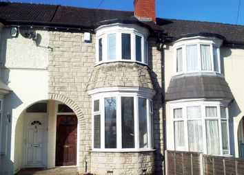 Thumbnail 3 bed terraced house to rent in Reservoir Road, Erdington, Birmingham