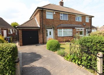 Thumbnail 3 bed semi-detached house for sale in Claythorne Drive, Gainsborough