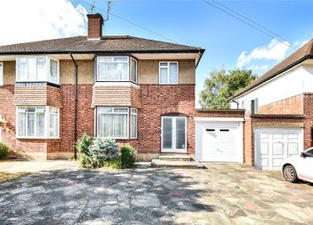 Thumbnail 3 bed semi-detached house for sale in Ashridge Gardens, Pinner, Middlesex
