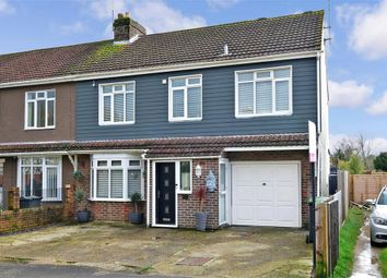 Thumbnail 4 bed semi-detached house for sale in Forest Avenue, Waterlooville, Hampshire