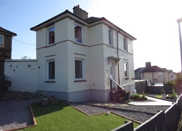 Thumbnail 3 bed detached house for sale in The Crescent, Thornhill, Egremont, Cumbria