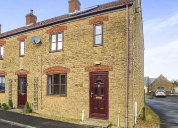 Thumbnail 2 bedroom end terrace house for sale in Birds Close, Middle Path, Crewkerne