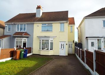 Thumbnail 3 bed semi-detached house for sale in Pye Green Road, Cannock, Staffordshire