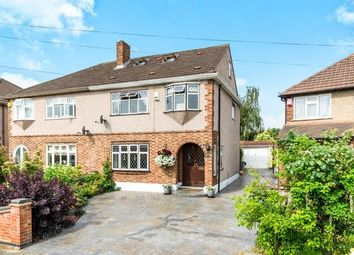 Thumbnail 4 bedroom semi-detached house for sale in Rise Park, Romford, Essex