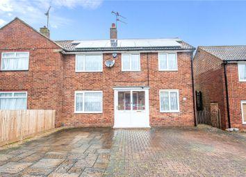 Thumbnail 3 bed semi-detached house for sale in Patrixbourne Avenue, Gillingham, Kent