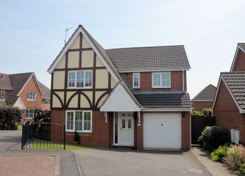 Thumbnail 4 bed detached house for sale in Hill Rise, Measham