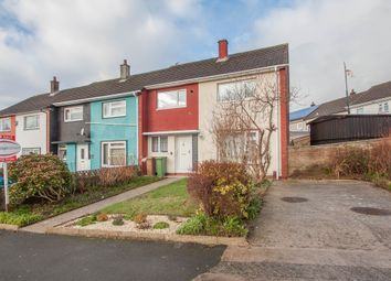 Thumbnail 3 bed end terrace house for sale in Pendeen Crescent, Plymouth