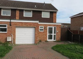 Thumbnail 3 bed semi-detached house to rent in Castle Hill Drive, Brockworth, Gloucester