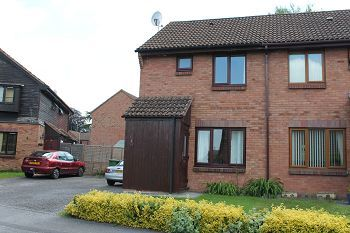 Thumbnail 2 bed semi-detached house to rent in Bremeridge Road, Westbury, Wiltshire