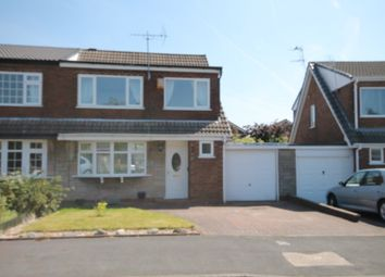 Thumbnail 3 bedroom semi-detached house to rent in Standfield Drive, Worsley, Manchester