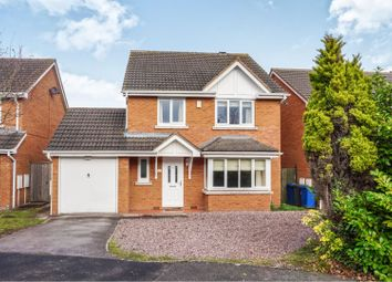 Thumbnail 4 bed detached house for sale in Alexander Close, Lichfield