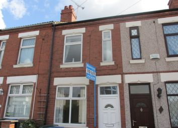 Thumbnail 3 bedroom terraced house to rent in Marlborough Road, Coventry
