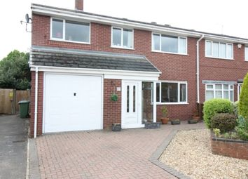 Thumbnail 4 bedroom semi-detached house for sale in Inglemere Close, Worksop