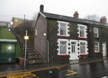Thumbnail 3 bed end terrace house for sale in East Street, Tylorstown, Ferndale