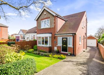 Thumbnail 3 bed detached house for sale in Weeland Road, Sharlston Common, Wakefield