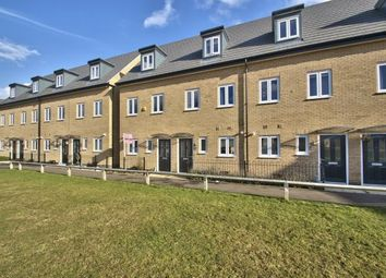 Thumbnail 3 bed end terrace house for sale in Meadow Gardens, Huntingdon, Cambridgeshire