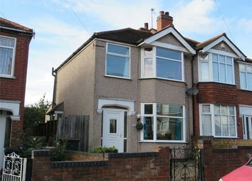 Thumbnail 3 bed semi-detached house to rent in Purefoy Road, Cheylesmore, Coventry, West Midlands