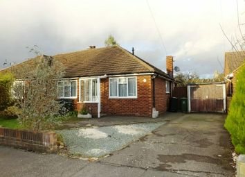 Thumbnail 2 bed semi-detached bungalow for sale in Kingfield Gardens, Woking