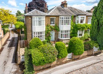 Thumbnail 5 bedroom semi-detached house for sale in Church Row, Chislehurst