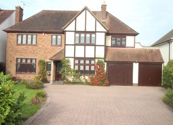 Thumbnail 5 bedroom detached house for sale in Sapcote Road, Burbage, Hinckley