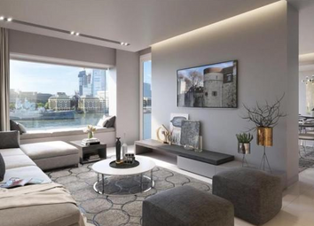 Thumbnail 1 bed flat for sale in Landmark Place, Lower Thames Street, London
