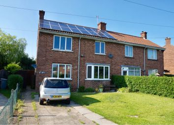 Thumbnail 4 bed semi-detached house for sale in The Crescent, Horncastle
